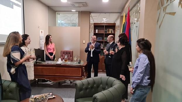 Office of Armenia's Honorary Consulate opens in Vilnius
