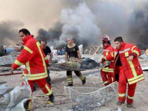 At least 50 killed in Beirut blast