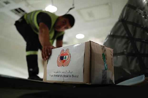 Humanitarian aid from Armenia reaches Beirut