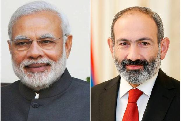 PM Pashinyan congratulates Indian Prime Minister on Independence Day