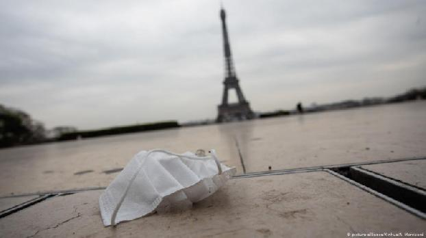 Paris is 'red' high-risk COVID zone again