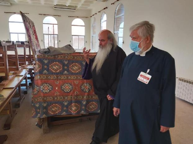 His Holiness Aram I visits the Birds' Nest Orphanage in Lebanon