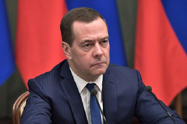 Russia's Medvedev urges NK conflicting sides cease fire to avoid catastrophic consequences for the region