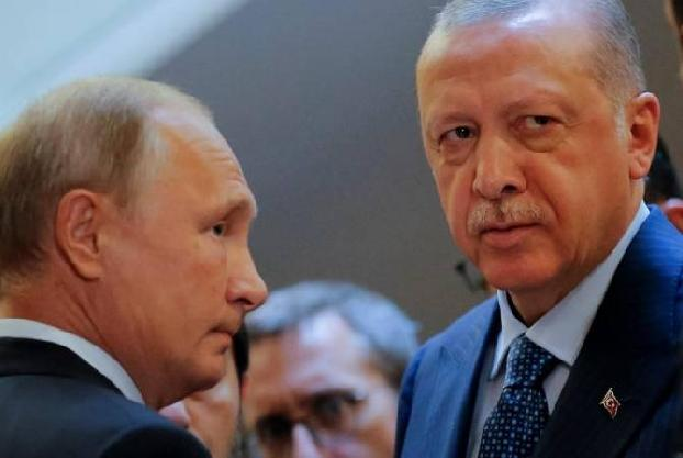Putin, Erdoğan discuss situation in Nagorno Karabakh