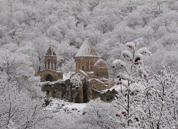 New group of Armenian priests leaves for Dadivank