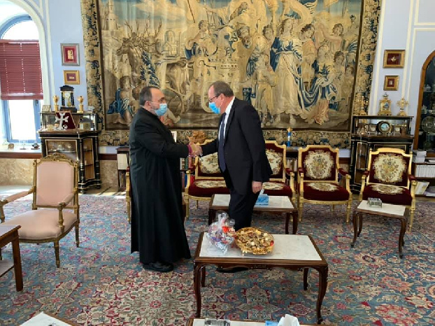 Russian envoy conveys Putin's answer to the letter of Armenian Patriarch of Jerusalem