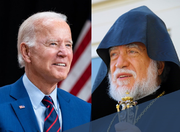 His Holiness Aram I congratulates Joe Biden