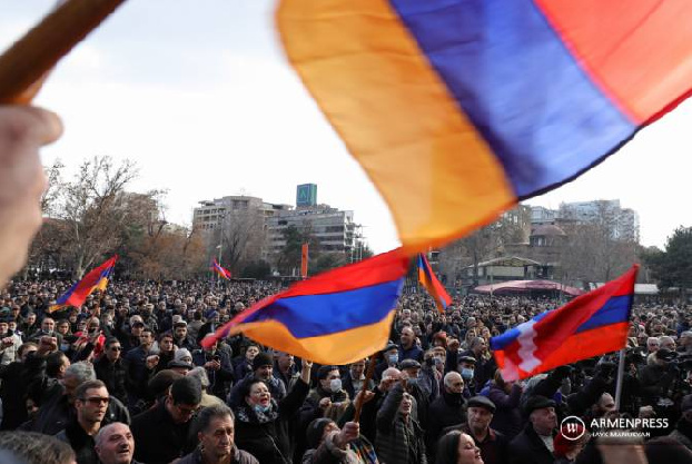 Freedom House report addresses post-war disturbances and democracy level in Armenia