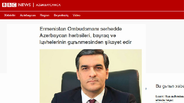 International Azerbaijani-language media outlets start reacting to Armenian ombudsman's statements
