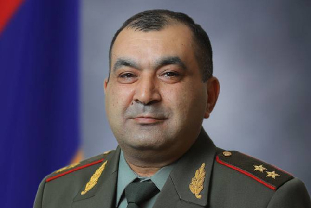 Lt. General Tiran Khachatryan files lawsuit to be reinstated as first deputy chief of general staff