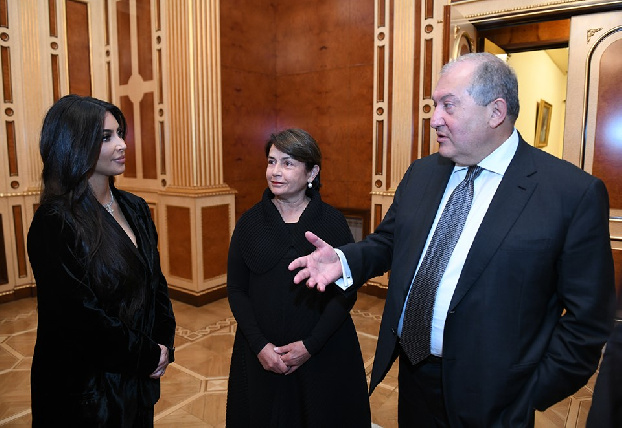 Kim Kardashian responds to President Sarkissian's letter, pledges continued support to Armenia