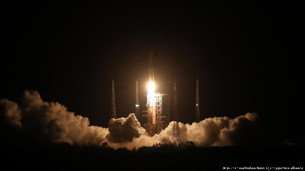 China spacecraft docks with future space station