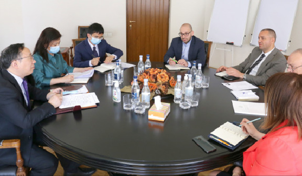 Armenia's caretaker economy minister invites Chinese companies to participate in expected new projects