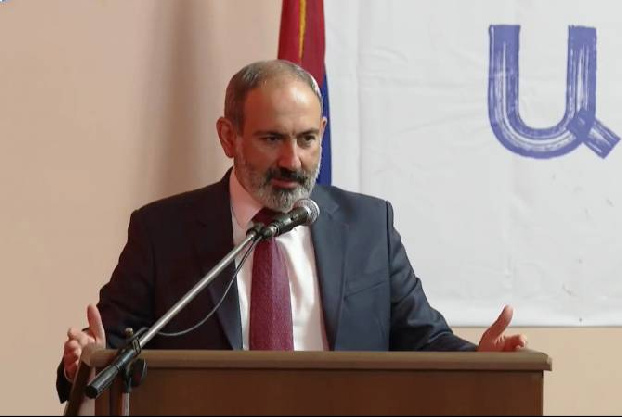 """Pashinyan expects to get power from people on replacing """"velvet mandate with steel mandate"""""""