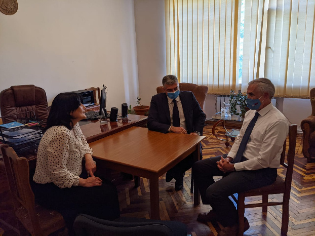 UN resident coordinator in Armenia meets with families displaced from Karabakh