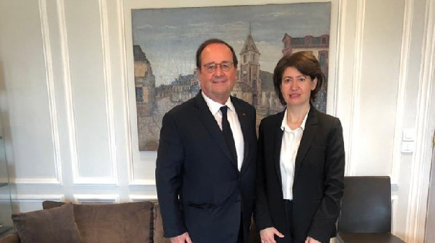 Armenian Ambassador met with former French President François Hollande to discuss the situation around Artsakh