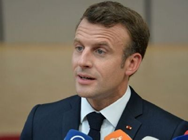 French President calls actions of French protesters cynical