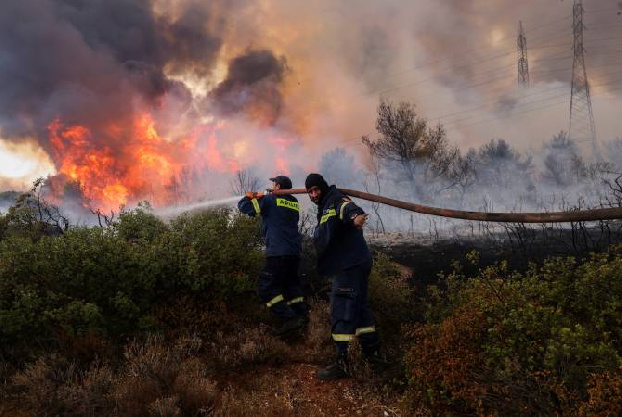 Armenia expresses solidarity with Greece amid wildfires