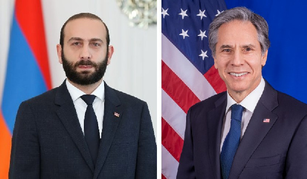 US encourages reengagement in substantive negotiations on Karabakh: Blinken congratulates Mirzoyan on appointment