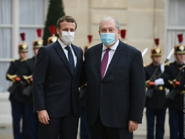 Macron to Armenia's Sarkissian: We will spare no effort to find lasting solution to conflict