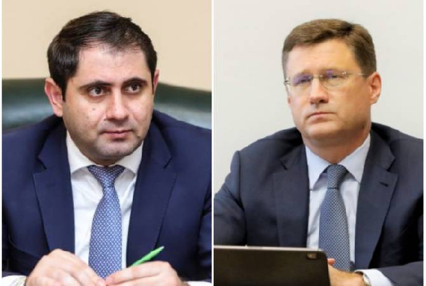 Armenian, Russian deputy PMs discuss implementation opportunities of North-South Energy Corridor